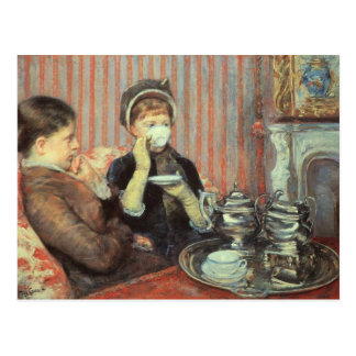 Cassatt: Five O'Clock Tea, Postcard