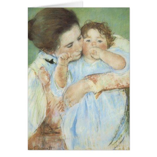 Cassatt's Mother & Child Card