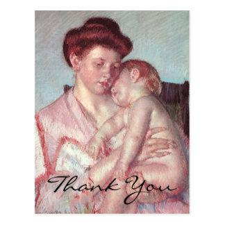 Cassatt's Sleepy Baby Postcards
