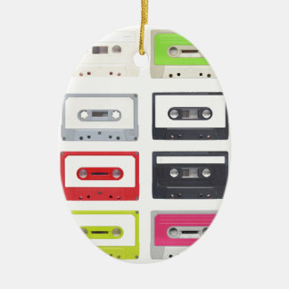 Cassette Ceramic Oval Decoration