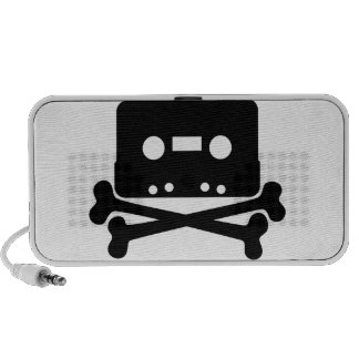 Cassette Jolly Roger Laptop Speaker