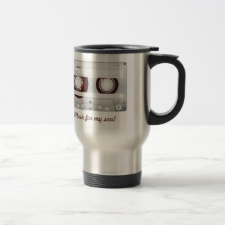 Cassette of Brown Stainless Steel Travel Mug