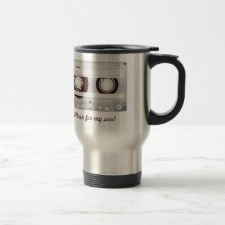 Cassette of Brown Stainless Steel Travel Mug