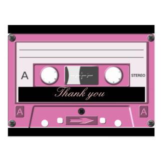 Cassette,Old School_ Postcard