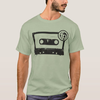 Cassette - on light T-Shirt