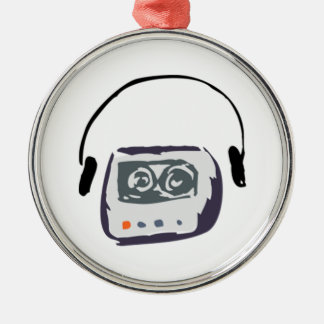 Cassette Player Christmas Ornament