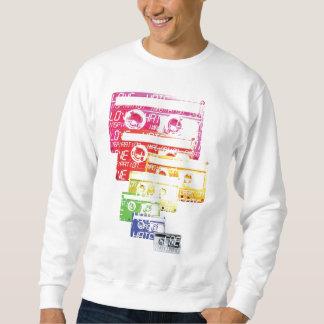 Cassette Print. Sweatshirt