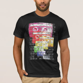 Cassette Print. Two. T-Shirt
