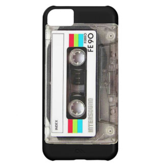 cassette record music retro sound tape song songs iPhone 5C case