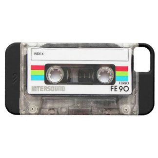 cassette record music retro sound tape song songs iPhone 5 cover