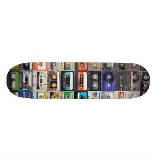 cassette row 18.1 cm old school skateboard deck