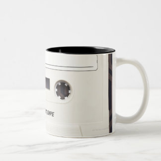 Cassette Tape 3 Two-Tone Coffee Mug