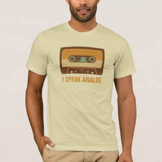 Cassette Tape Analog Design Personalized T-Shirt