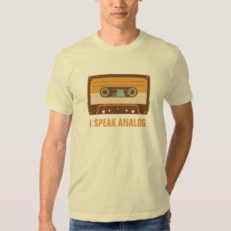 Cassette Tape Analog Design Tee Shirts