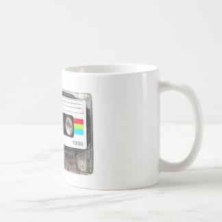 Cassette Tape Basic White Mug