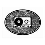 Cassette Tape Black & White