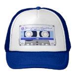 Cassette tape - blue - trucker hat