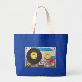 Cassette Tape Brick Bags