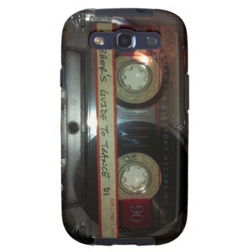Cassette Tape Galaxy S3 Case