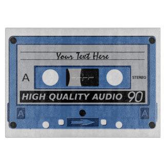 Cassette Tape custom cutting board
