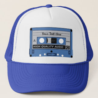 Cassette Tape custom hat - choose color