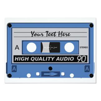 Cassette Tape custom invitation