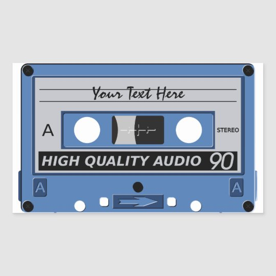 Cassette Tape custom stickers