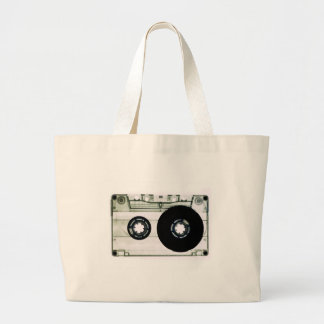 Cassette Tape Large Tote Bag