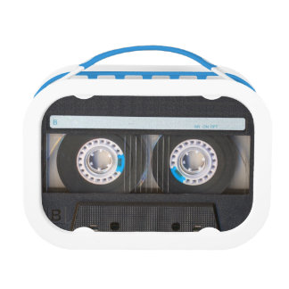 Cassette Tape Lunch Boxes