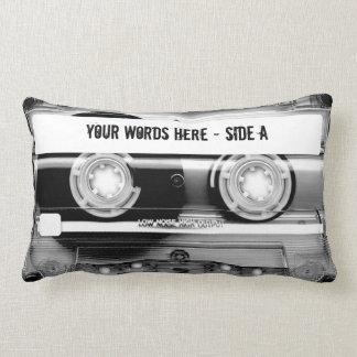 Cassette Tape Mixtape (personalized) Lumbar Cushion