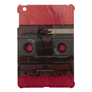 Cassette tape music vintage red iPad mini cover
