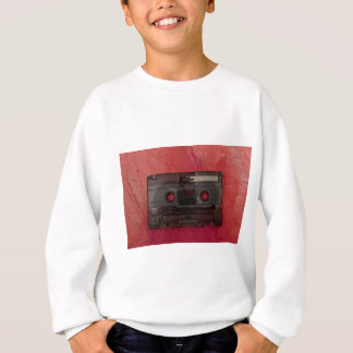 Cassette tape music vintage red sweatshirt