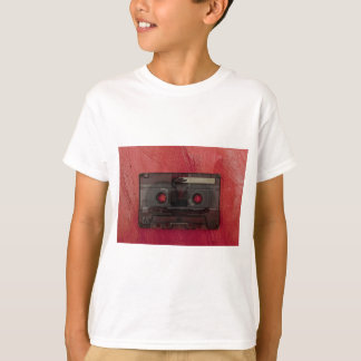 Cassette tape music vintage red T-Shirt