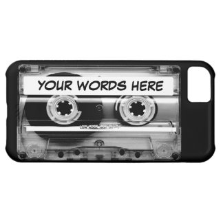 Cassette Tape Personalised iPhone 5C Case