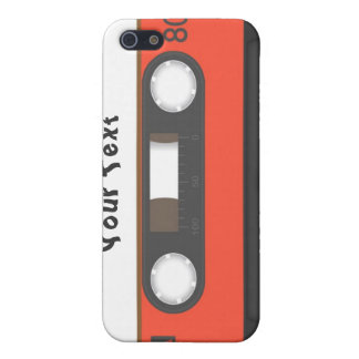 cassette tape personalised case for iPhone 5