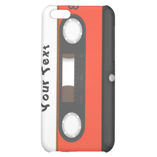 cassette tape personalised iPhone 5C cover