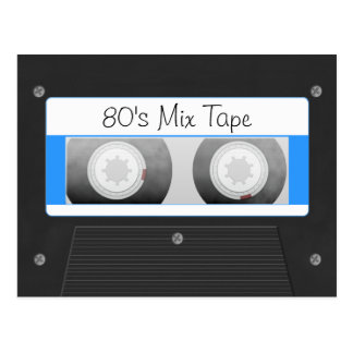 Cassette Tape Postcard