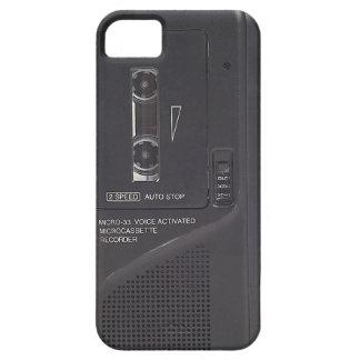 Cassette Tape Recorder Phone Case Vintage