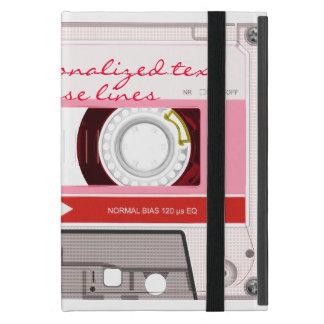Cassette tape - red - cases for iPad mini