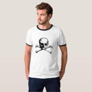 Cassette Tape Skull and Bones T-Shirt