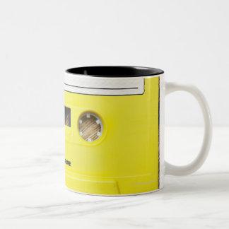 Cassette Tape Two-Tone Coffee Mug