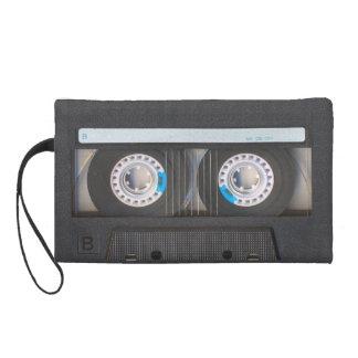 Cassette Tape Wristlet Clutch