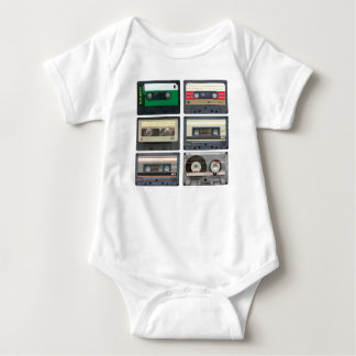 Cassette Tapes Baby Bodysuit