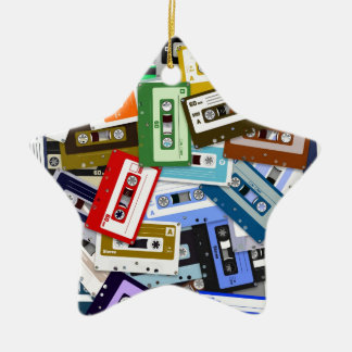 Cassette Tapes Christmas Tree Ornament