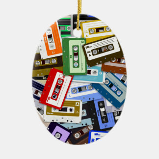 Cassette Tapes Christmas Ornaments
