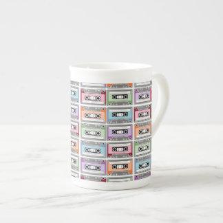 Cassette Tapes Tea Cup