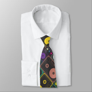 Cassette Tapes Tie