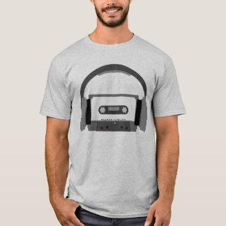 Cassette with Headphones T-Shirt