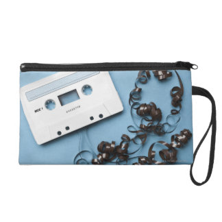 Cassette with Tangled Tape Wristlet