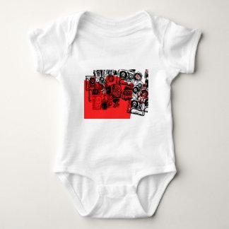 """Cassettes"" design made for true dreamers! Baby Bodysuit"